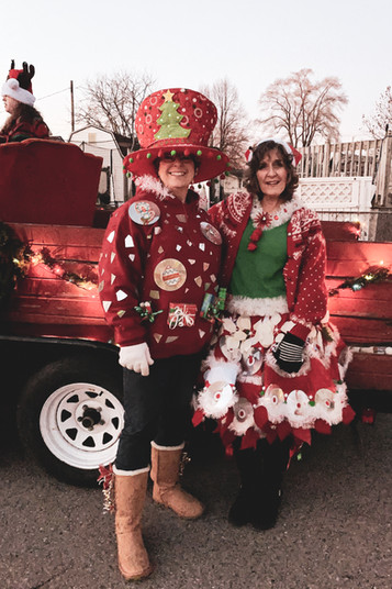 Jodi B and Terri at Christmas Parade 201