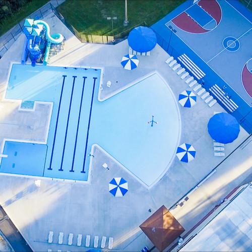 Blue Devil Lagoon Aerial