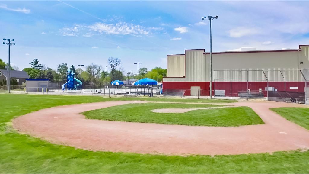 Baseball Fields at Community Center