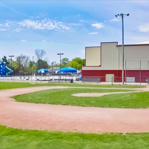 Baseball Fields at Community Center