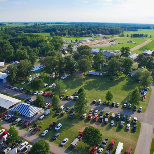 Punkin Vine Fair Aerial