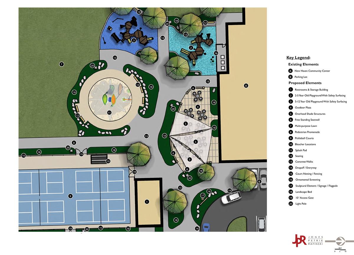 New Haven Park Improvements Master Plan