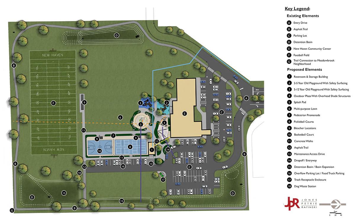 New Haven Park Improvements Master Plan.