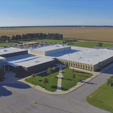 South Newton High School Aerial