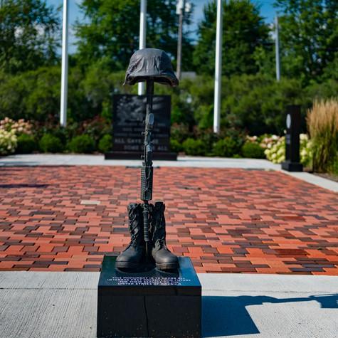 Veterans / POW Memorial at Town Hall