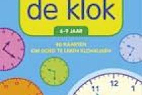 Ik Oefen Met de Klok - Flash cards to tell the time
