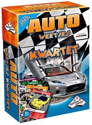 Kwartet - Auto's (Educative FlashCards & Family Game)