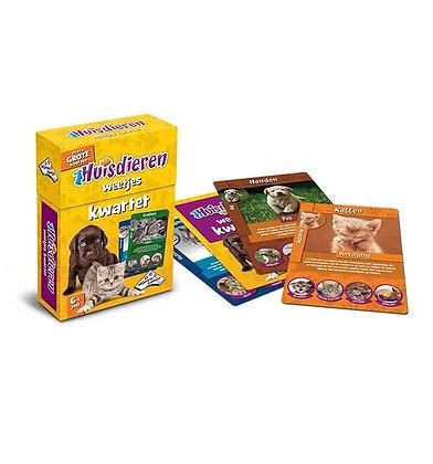 Kwartet - Huisdieren (Educative cards & Family Game)