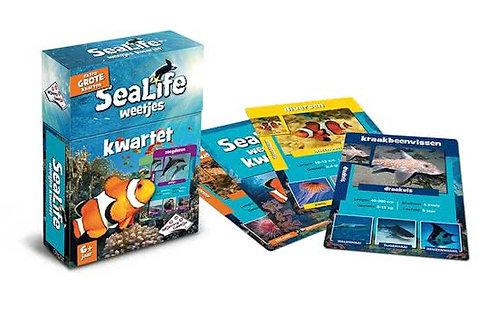 Kwartet - Sealife (Educative FlashCards & Family Game)