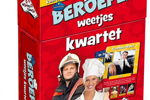 Kwartet - Boerderijdieren (Educative FlashCards and Family Game)