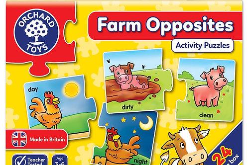 Farm opposites - Puzzle Game