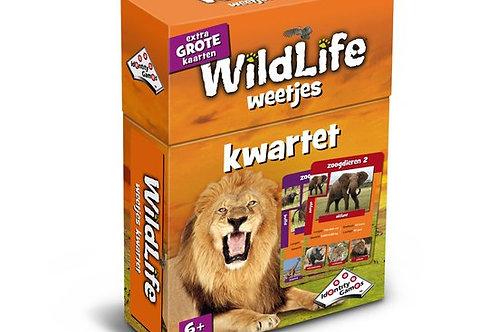 Kwartet - Wild Life (Cartes éducatives et Jeu des Familles)