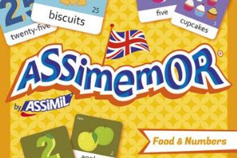 Assimemor - Food & Numbers (Memory Game)