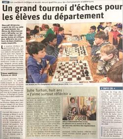 Grand tournoi d'échecs à St Jo