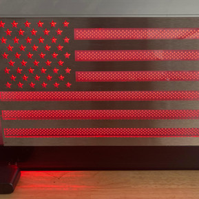 Stainless Streel & Acrylic LED lighted