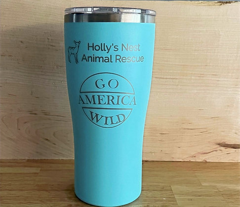 30 oz. Holly's Nest Insulated Tumbler