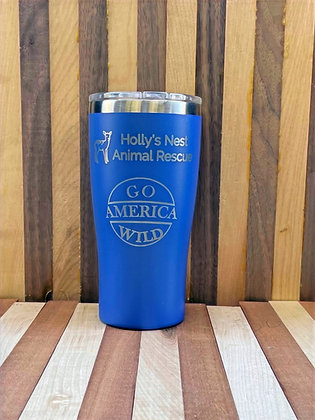 20 oz. Holly's Nest Insulated Tumbler