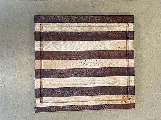 Sapele & Hard Maple Cutting Board