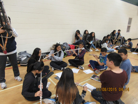 Flute Sectionals