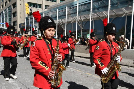 PHB in Toronto's St. Patrick Day Parade