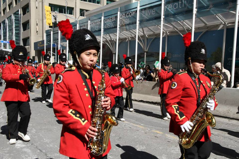 PHB in Toronto's St. Patrick Day Parade