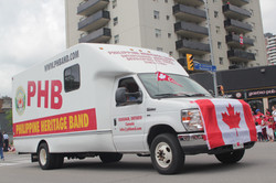 PHB Truck on Canada Day