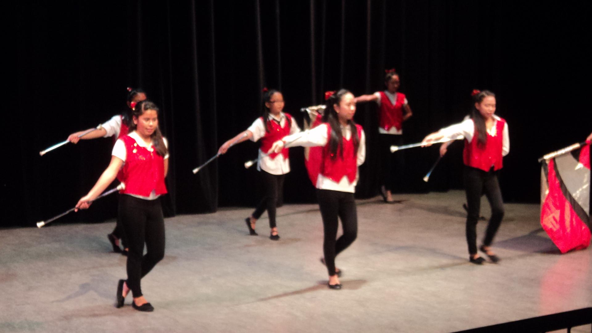 Majorette Performance