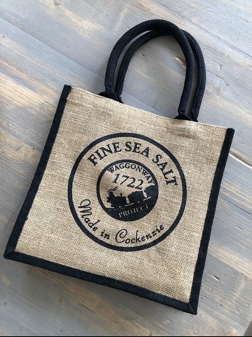 Cockenzie Sea Salt Tote Bag
