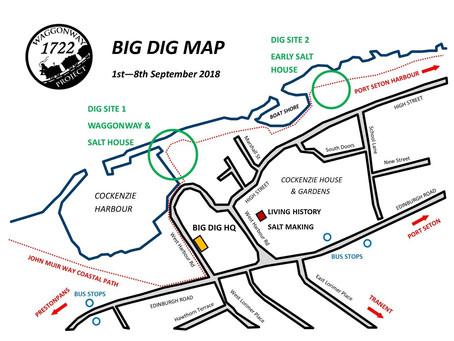 BIG DIG LOCATION MAP