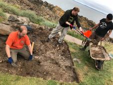 The auld kirk salt pan trench
