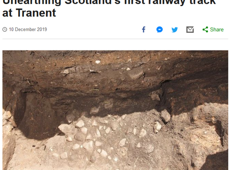 Waggonway discovery in top 5 finds of the year!
