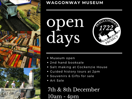 NEXT OPEN DAYS 7th & 8th December