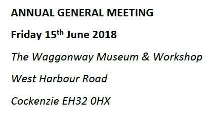 AGM coming soon -15th June