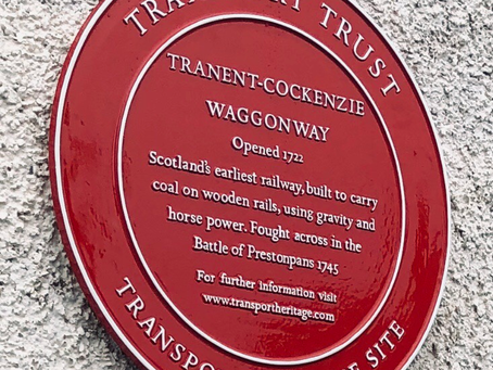TRANSPORT TRUST PLAQUE