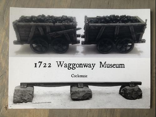 1722 Waggonway Museum postcard