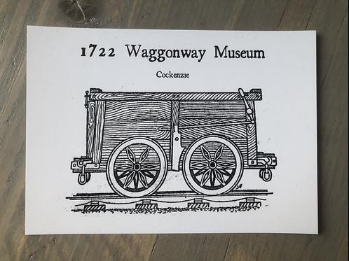 Waggon postcard