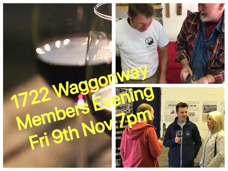 Member's Evening 9th November