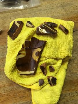 Slipware pottery - possibly 17th century