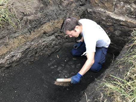 Digging again in September