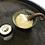 Thumbnail: Handmade Spiral Tide Salt dish & Spoon