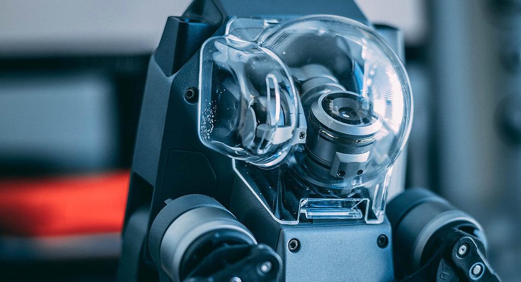 cámara avión no tripulado
