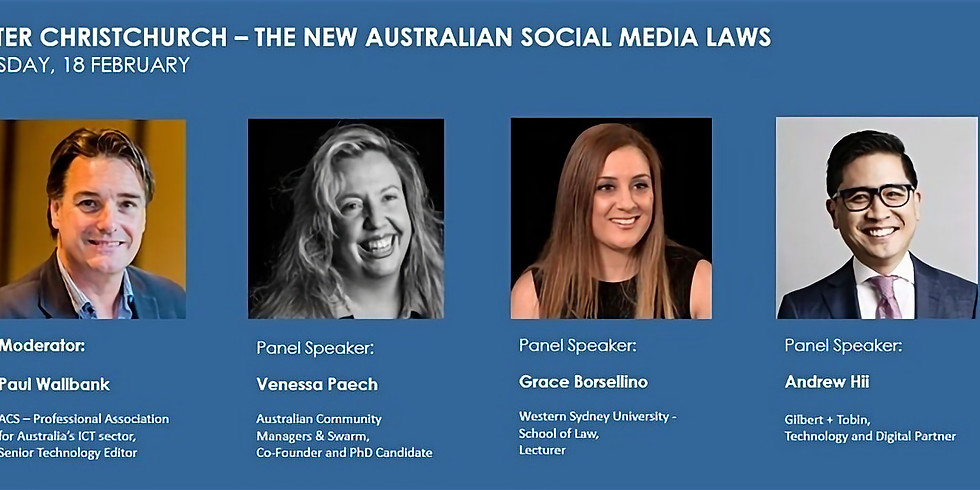 Q&A on New Social Media Laws after the Christchurch Shooting