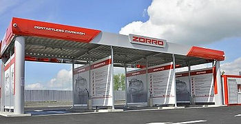 Franchise car wash contactless Zorro sta