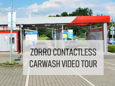 Zorro Contactless Car Wash - Video Tour
