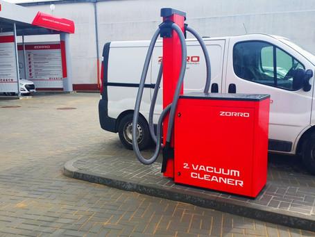 VACUUM CLEANER - Franchise Car Wash ZORRO
