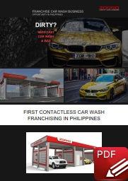Franchise business car wash Zorro Brochu