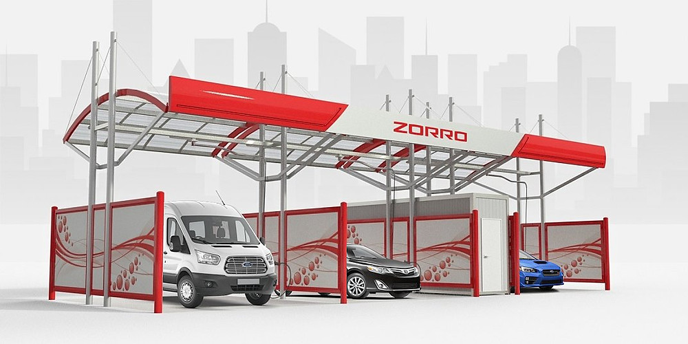 Franchise business in the Philippines - car wash & wax station Zorro