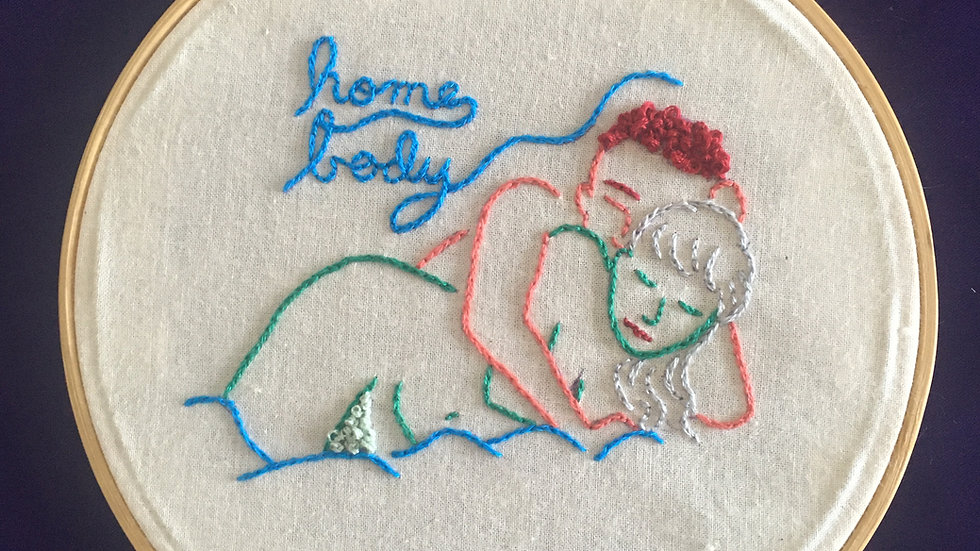 """Home Body"" Erotic Embroidery"