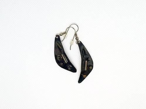 Marriage of Metals Earrings