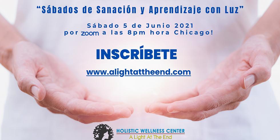 """""""Sábados de Sanación y Aprendizaje con Luz - Junio 05 de 2021"""""""